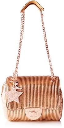 Lollipops Alix Glitter Chain Side, Women's Shoulder Bag, Blanc Cassé (Nude), 16x12x33 cm (W x H L)