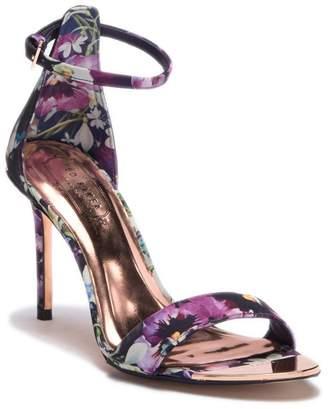 Ted Baker Charv Floral Ankle Strap Sandal