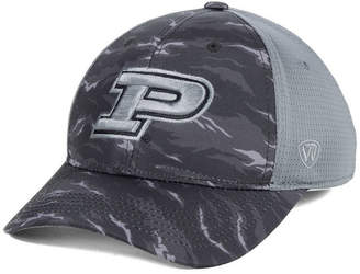 Top of the World Purdue Boilermakers Tiger Camo Flex Stretch Fitted Cap