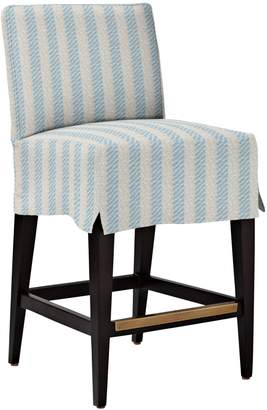 Serena & Lily Jackson Counter Stool - Slipcovered