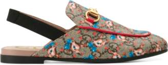 Gucci Children's Princetown GG pets slipper