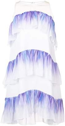 Nha Khanh sleeveless ruffle dress