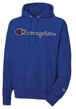 Champion Reverse Weave Logo Hoodie