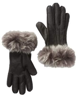 UGG Toscana Genuine Sheepskin Water Resistant Gloves