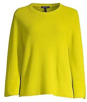 Eileen Fisher Women's Flared Sleeve Wool Sweater