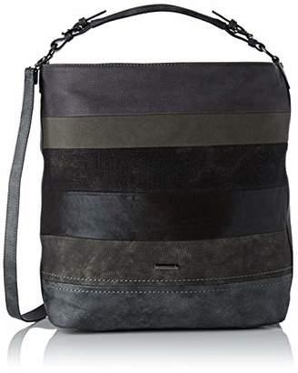 d65a6649ecd53 David Jones Women s CM3576 BLACK Shoulder Bag Black