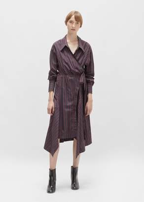 Isabel Marant Mila Cotton Asymmetrical Wrap Dress
