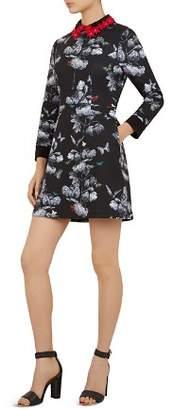 Ted Baker Amaliia Narrnia Collar-Detail Dress