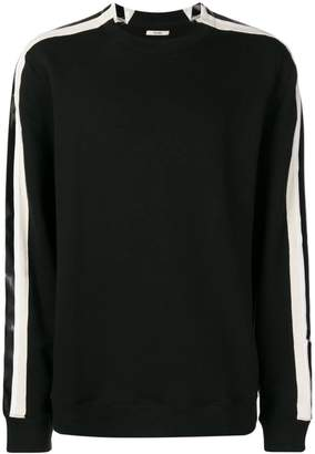 Zilver Side Strap Sweatshirt in Organic Cotton