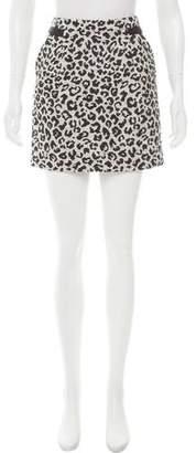Comptoir des Cotonniers Patterned Mini Skirt