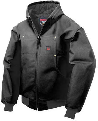 JCPenney Tough Duck Hooded Bomber Jacket-Big & Tall