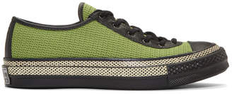 J.W.Anderson Green Converse Edition Chuck Taylor 70 Ballet Sneakers