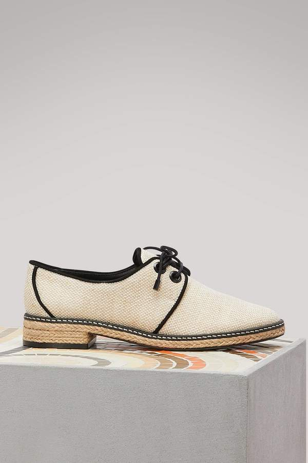 Tory Burch Fawn Oxford espadrilles