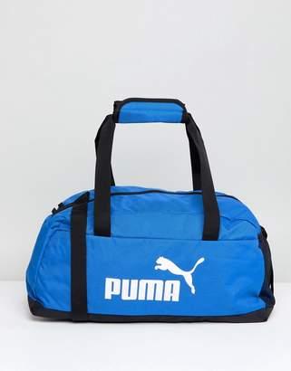 Puma Phase Sport Bag In Blue 07494227