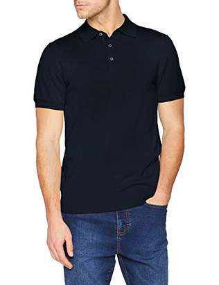 Ben Sherman Men's's Core Short Sleeve Knitted Polo Shirt, Small (Size: S)