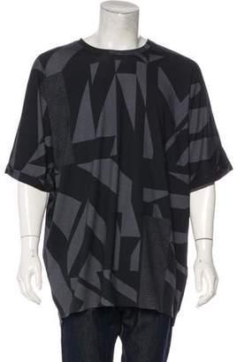 Helmut Lang Geometric Print T-Shirt w/ Tags