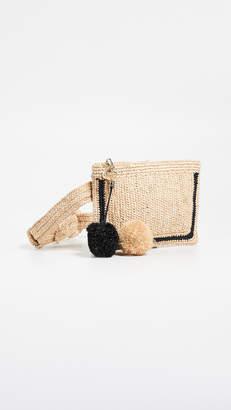 Zimmermann Raffia Stripe Belt Bag