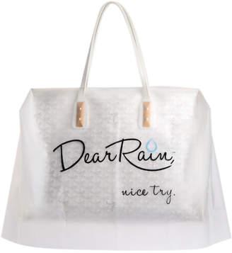 Dear Rain 'Nice Try' Handbag Ponchos Set