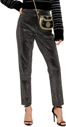 Topshop Pinstud Mom Jeans