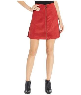 Jones New York Faux Suede Skirt