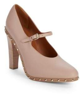 Valentino Rockstud Stiletto Heel Leather Pumps