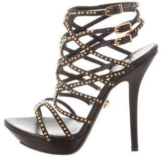 Versace Studded Platform Sandals