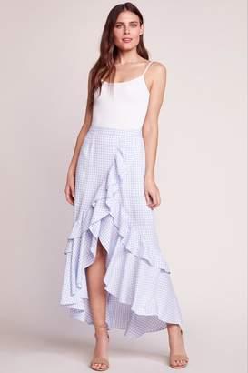 BB Dakota Gingham Maxi Skirt
