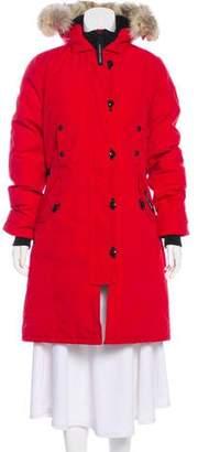 Canada Goose Kensington Fur-Trimmed Down Coat w/ Tags