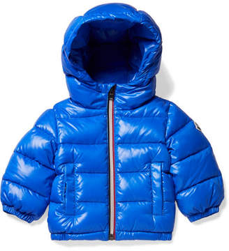 Moncler Ages 6 Months - 3 Years Aubert Hooded Quilted Glossed-shell Down Jacket
