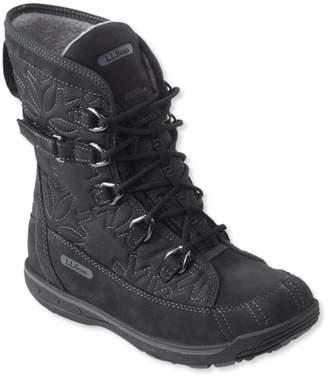 L.L. Bean L.L.Bean Womens Snow Peak Waterproof Snow Boots, Mid