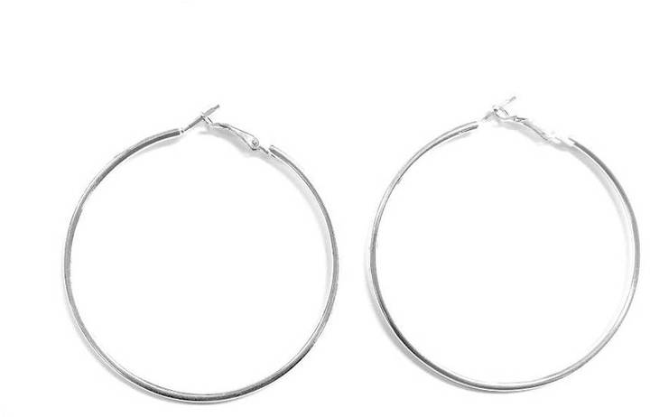Love's Hangover Creations Silver Hoops