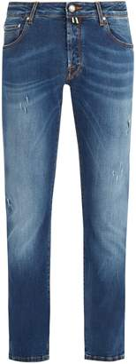Jacob Cohen Rip and Repair slim-fit jeans