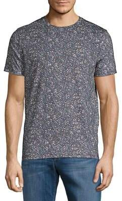 Selected Floral-Print Cotton Tee