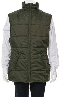 Martine Rose Quilted Puffer Vest