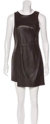 Versace Leather Mini Dress w/ Tags