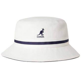 Asstd National Brand Kangol Bucket Hat with Striped Band