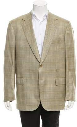 Battistoni Wool & Silk-Blend Blazer