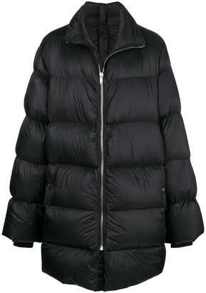 Rick Owens zipped padded coat