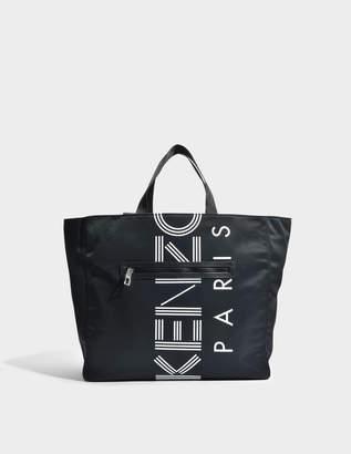 Kenzo Sport Tote Bag in Black Nylon
