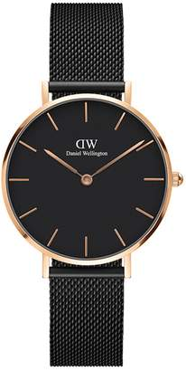 Daniel Wellington Classic Petite Mesh Strap Watch, 32mm