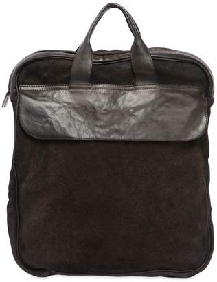 Numero 10 Idaho Reversed Leather Backpack