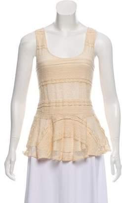 Ganni Sleeveless Knit Top