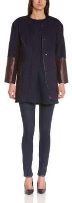 By Zoé Women's CARRI Long Coat Long sleeve Coat - - 8 (Brand size: 1)