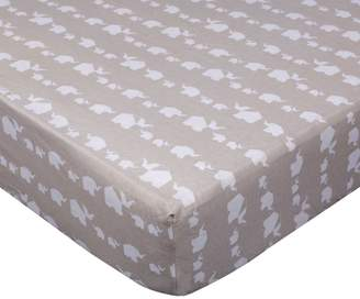 Living Textiles Fitted Crib Sheet