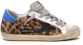 Golden Goose Distressed Superstar Sneakers