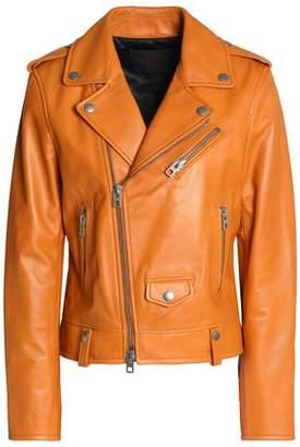 Coach Leather Biker Jacket