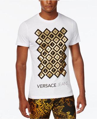 Versace Jeans Men's Graphic-Print T-Shirt $150 thestylecure.com