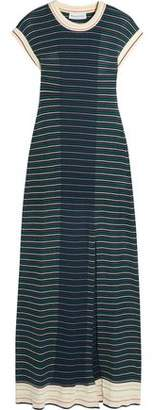 Sonia Rykiel Striped Cotton-Blend Maxi Dress