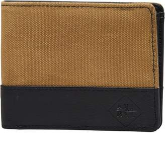 Animal Mens Reckless Wallet Vintage Yellow