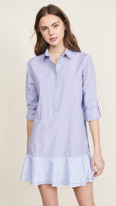 Fred and Sibel Striped Shirtdress